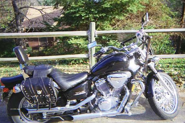 Regina's Honda Shadow